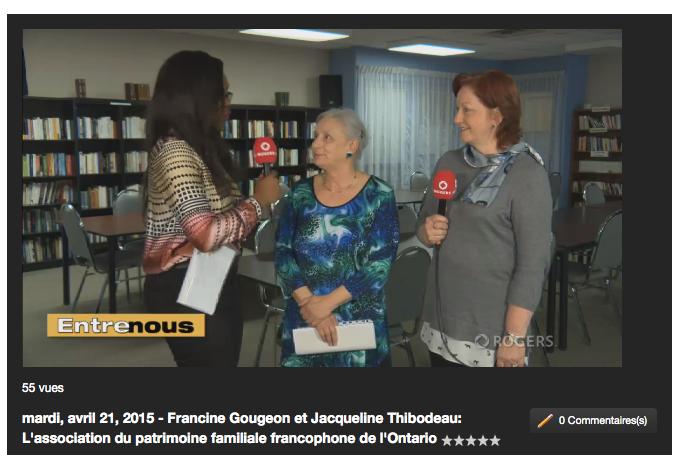 Francine Gougeon et Jacqueline Thibodeau